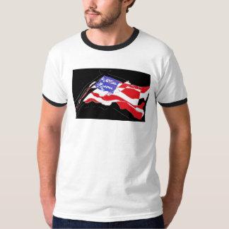 Ripped Flag Shirt