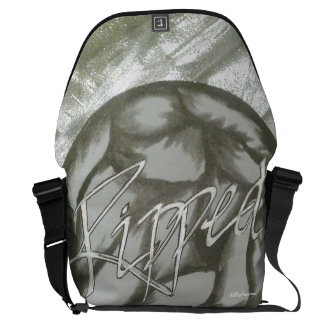 """Ripped™ "" (Workout/Sportswear) Courier Bag"