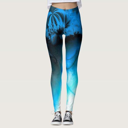 Ripple impact (blue) leggings