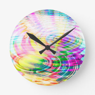 Ripple Pulse Round Clock