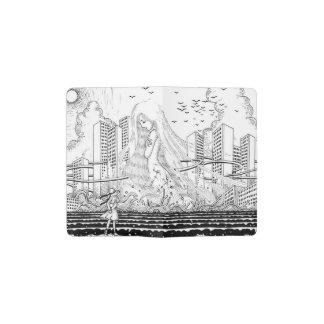 Ripple wave pocket moleskine notebook