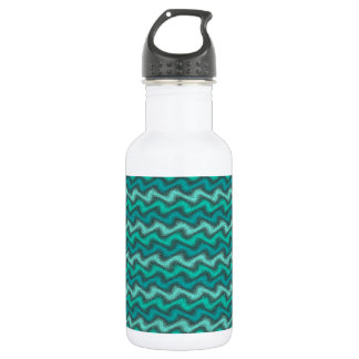 Rippled Aqua 532 Ml Water Bottle