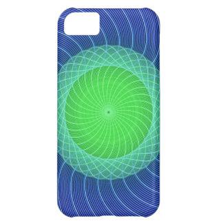 Ripples Mandala Cover For iPhone 5C