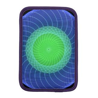 Ripples Mandala iPad Mini Sleeves