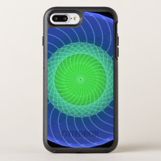Ripples Mandala OtterBox Symmetry iPhone 7 Plus Case