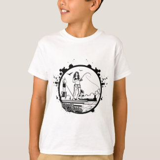 Ripples & NIbbles fishing outfitter logo T-Shirt