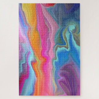 Ripples of Colour Jigsaw Puzzle