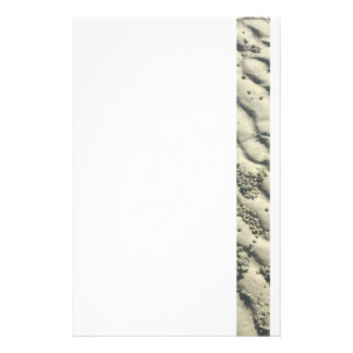Ripples of sand stationery