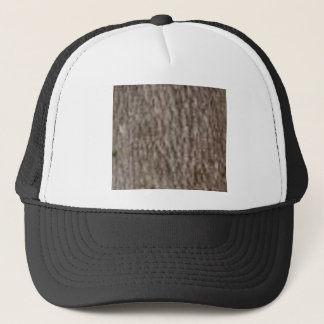 ripples of white bark trucker hat
