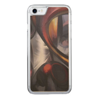 Rippling Fantasy Pastel Abstract Carved iPhone 8/7 Case