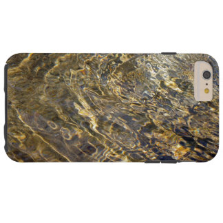 Rippling Gold Water Abstract iPhone 6 Plus Case