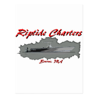 Riptide Charters Postcard