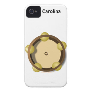 Riq Tambourine Percussion iphone 4g Personalized iPhone 4 Case-Mate Cases