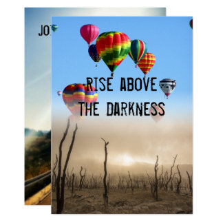 Rise Above card