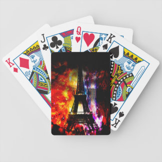 Rise Again Parisian Dreams Bicycle Playing Cards