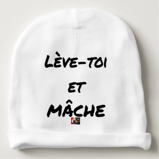 RISE AND CHEWS - Word games - François Ville Baby Beanie