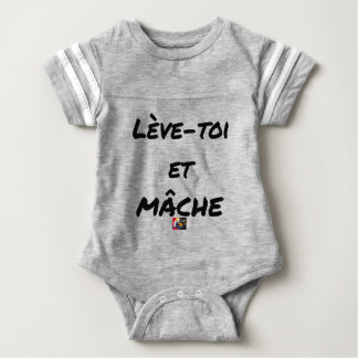 RISE AND CHEWS - Word games - François Ville Baby Bodysuit