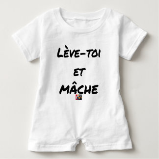 RISE AND CHEWS - Word games - François Ville Baby Romper