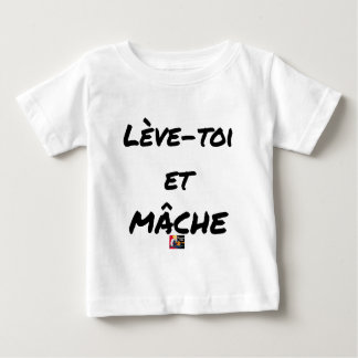 RISE AND CHEWS - Word games - François Ville Baby T-Shirt