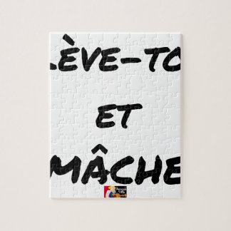 RISE AND CHEWS - Word games - François Ville Jigsaw Puzzle