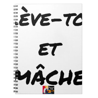 RISE AND CHEWS - Word games - François Ville Notebook