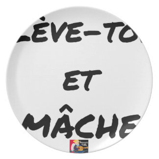 RISE AND CHEWS - Word games - François Ville Plate