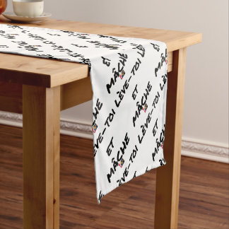 RISE AND CHEWS - Word games - François Ville Short Table Runner