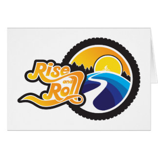 rise and roll cyclist card