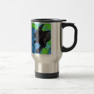 Rise and shine! French Bulldog Travel Mug