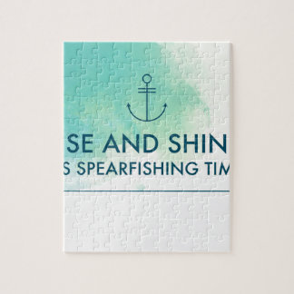 Rise and Shine It's Spearfishing Time Jigsaw Puzzle