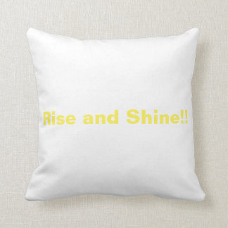 Rise and Shine pillow