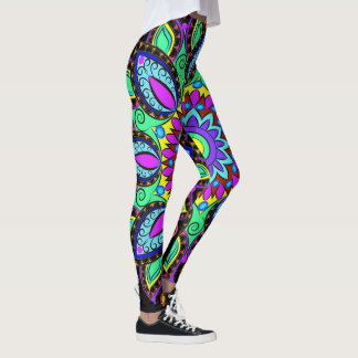 Rise and SHINE Pop Fashion Leggings