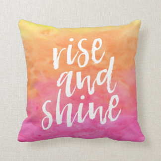 Rise and Shine | Sweet Dreams pillow