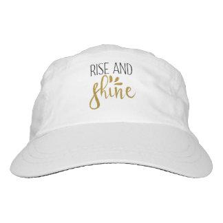 """Rise and Shine"" Woven Baseball Cap"