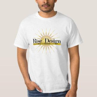 Rise & Design Logo T T-Shirt