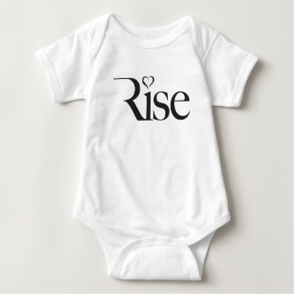 Rise, I'm with Mom Baby Bodysuit