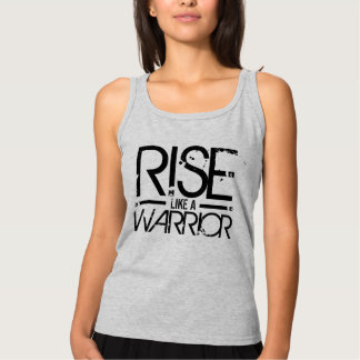 Rise Like A Warrior Motivational Tee