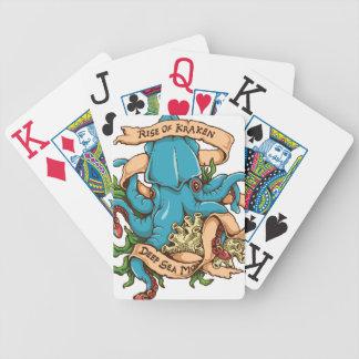 Rise of Kraken Monster Octopus Poker Deck