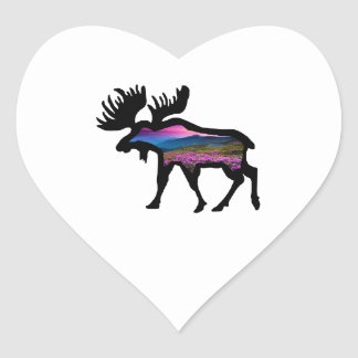 Rise of the Horizon Heart Sticker