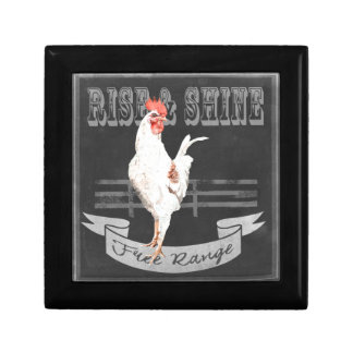 Rise & Shine Rooster Gift Box
