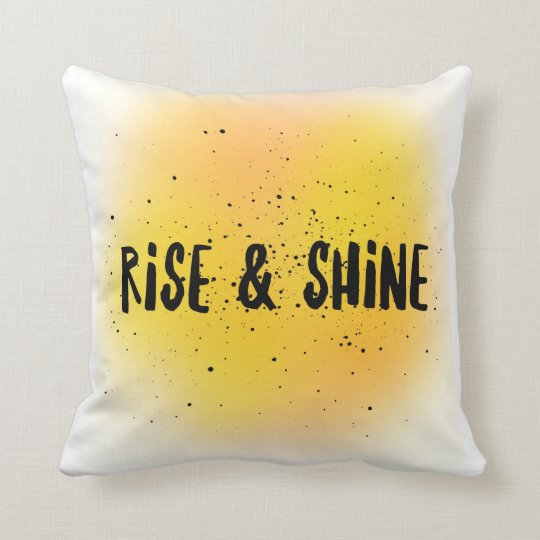 Rise & Shine Square Pillow