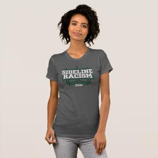 RISE Sideline Racism T-shirt women's grey/green