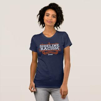 RISE Sideline Racism T-shirt women's navy/orange