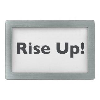 Rise Up! Belt Buckle