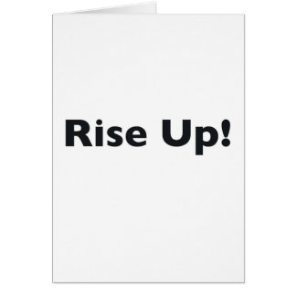 Rise Up! Card