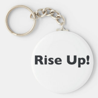 Rise Up! Keychain