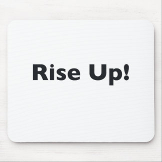 Rise Up! Mouse Pad