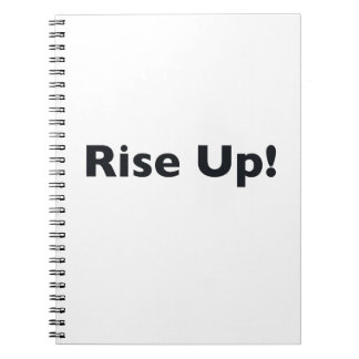Rise Up! Notebook