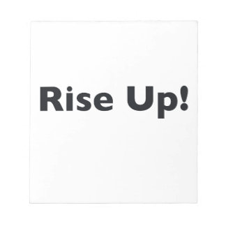 Rise Up! Notepad