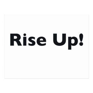 Rise Up! Postcard